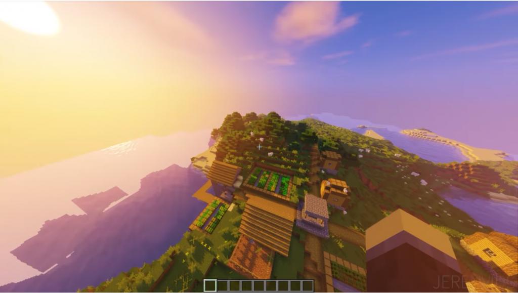 Big Survival Island Seed   Minecraft PE Seeds