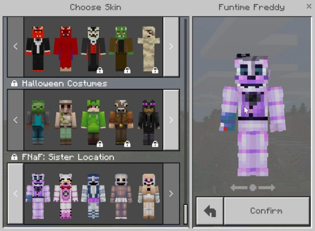 Five Nights At Freddy's: Sister Location Texture Pack