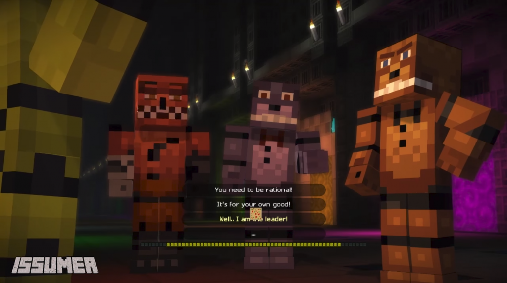 Freddy Fazbear Of FNAF Skin Minecraft PE Skins - Skins para minecraft pe five nights at freddys