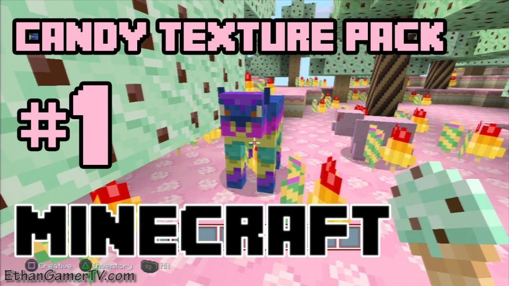 Candy Craft Texture Pack