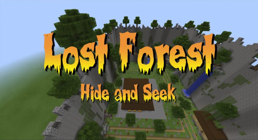 Lost Forest Hide and Seek Map [Mini-game]