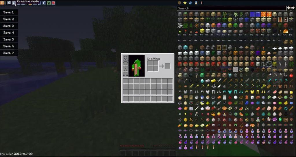 Too Many Items Mod [ToolBox] | Minecraft PE Mods