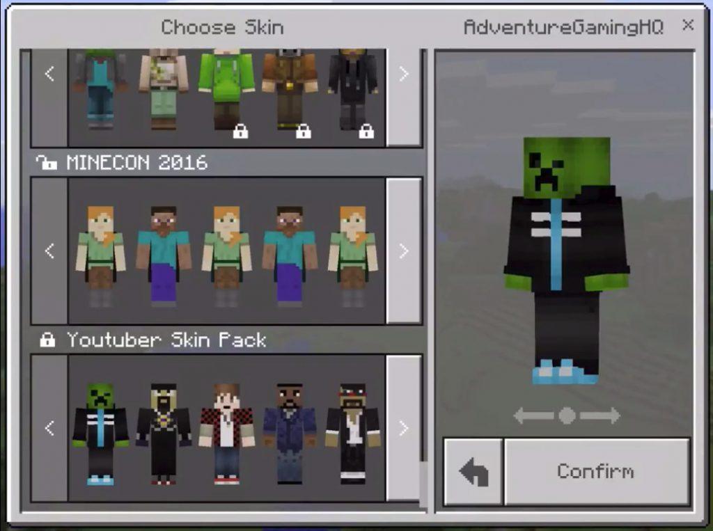 YouTubers Skin Pack 1.2
