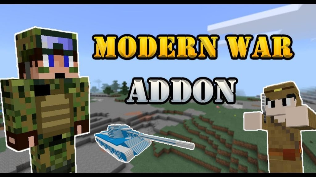 Jimbo's Modern Weapons Mod | Minecraft PE Mods