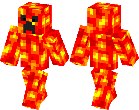 Lava Creeper Skin