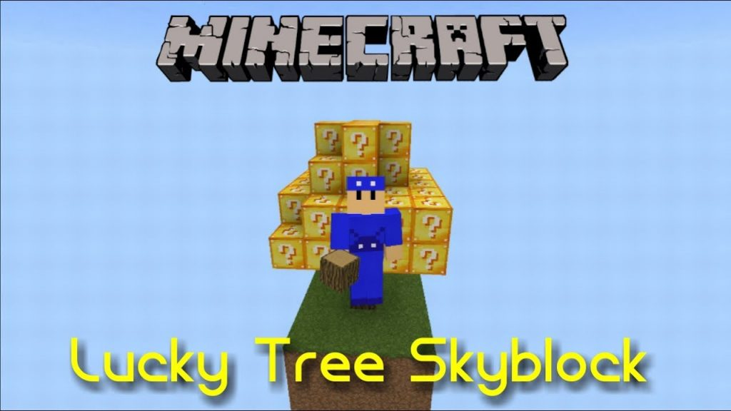 LuckyTree SkyBlock Map [Survival]