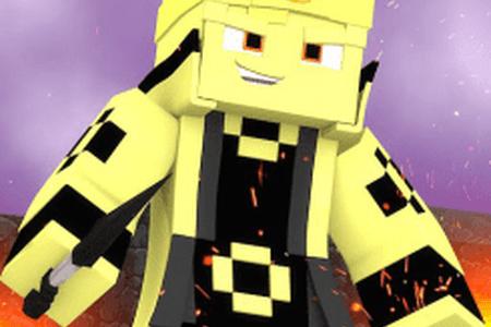 Naruto Asura Skin Minecraft PE Skins - Skins para minecraft pe de naruto