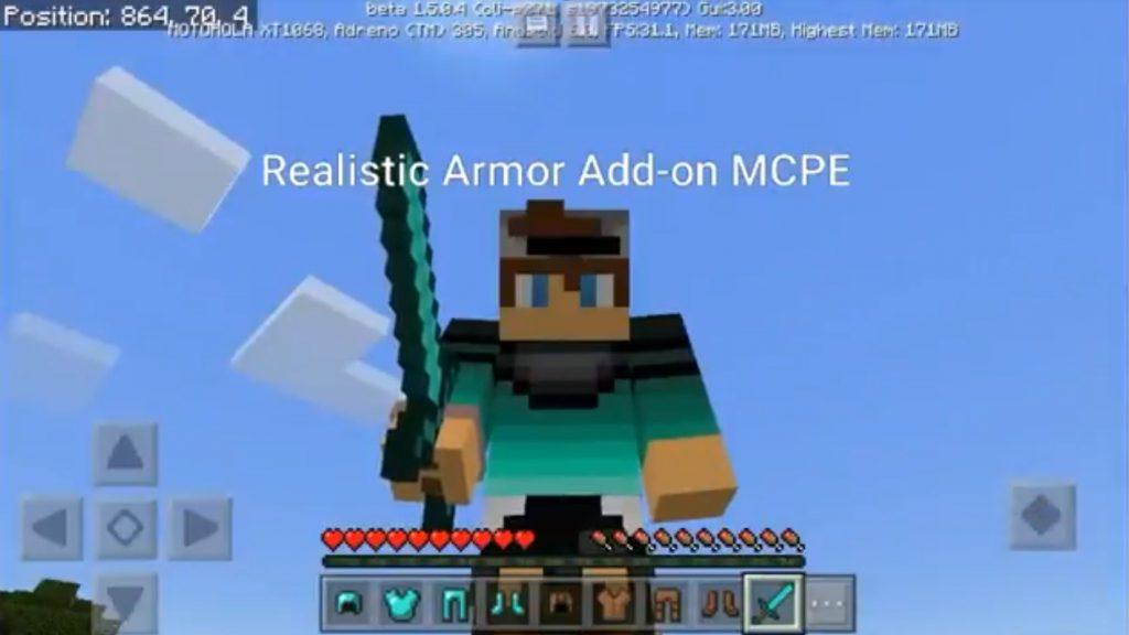 Realistic Armors Mod