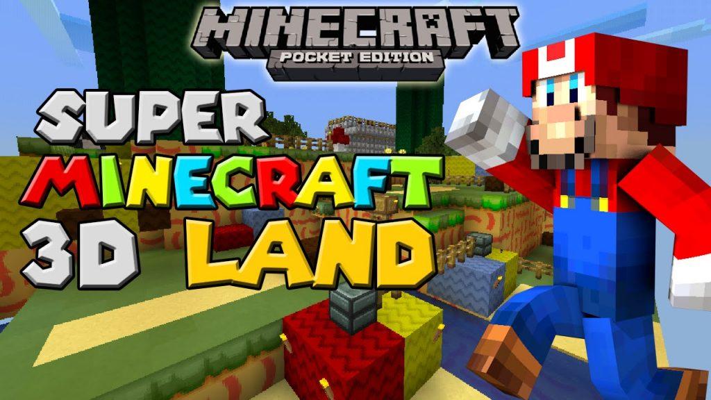 Mario 3D Land Map