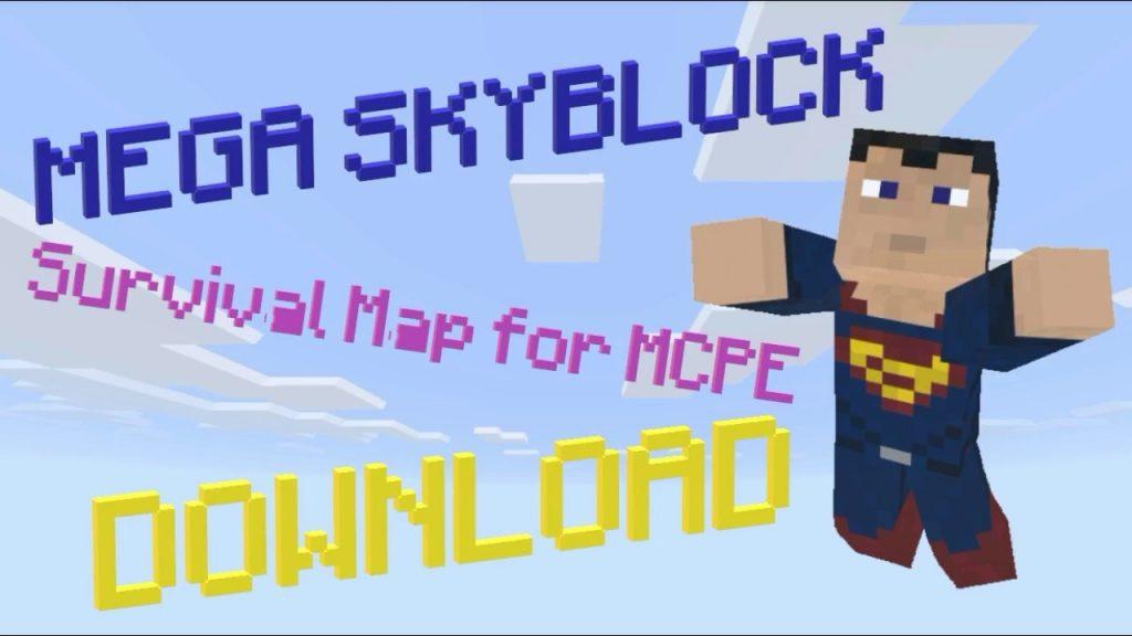 Mega Skyblock Map