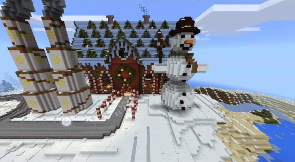 Minecraft Christmas Map.Tomb Crafter 7 Map Christmas Minecraft Pe Maps