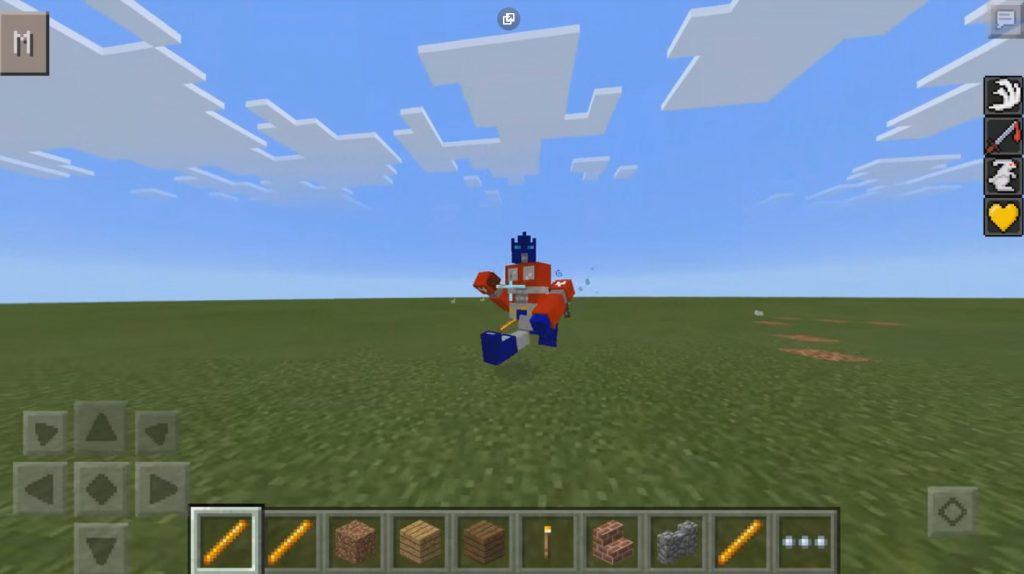 Transformers Mod | Minecraft PE Mods