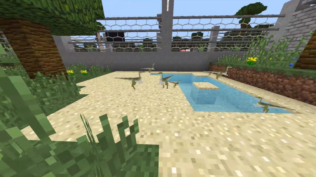 Jurassic World Map Minecraft Pe Maps
