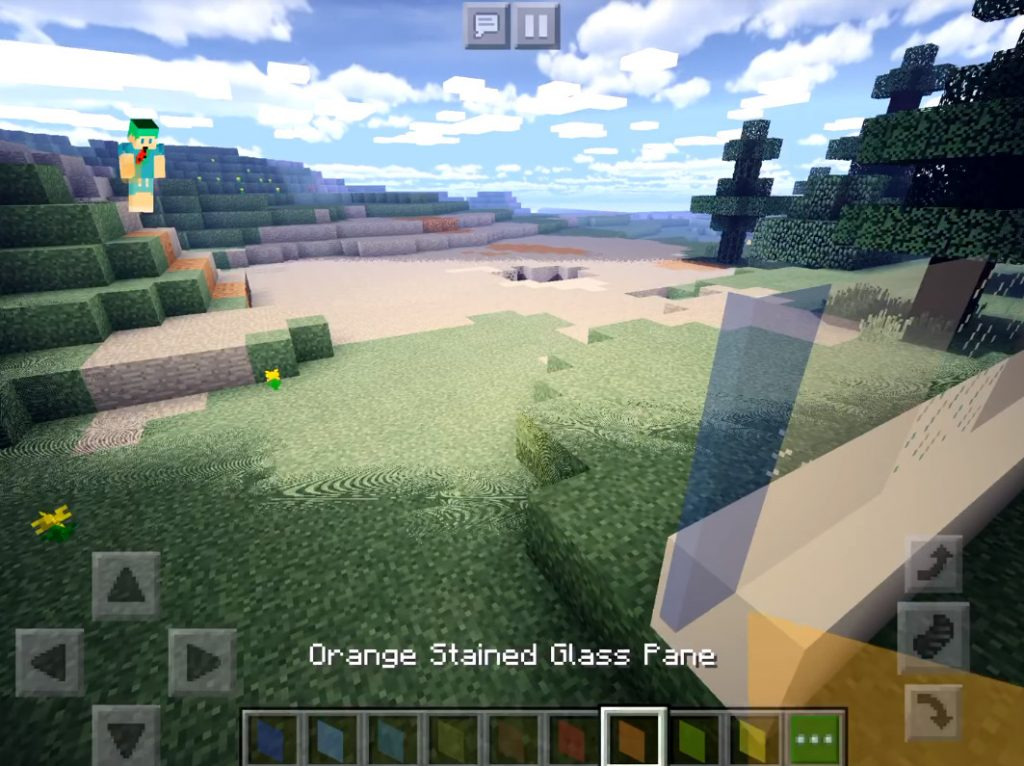 Clean Connectable Glass Texture Pack Minecraft Pe Texture Packs