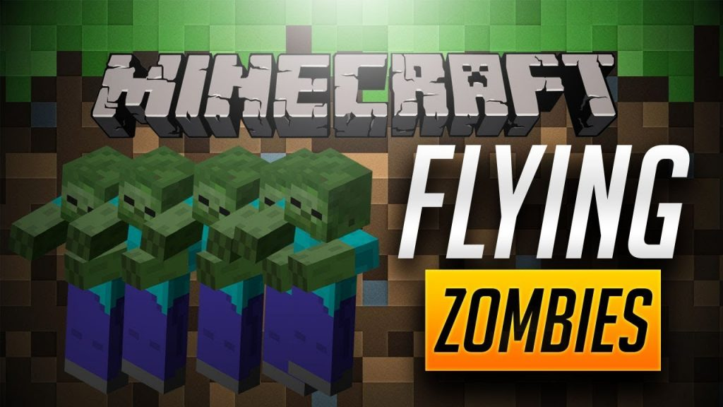 Flying Zombies Mod