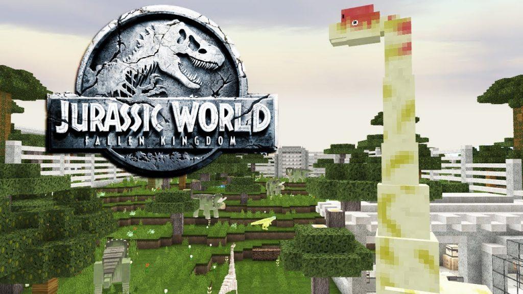 Jurassic Minecraft (Isla Nublar) Map