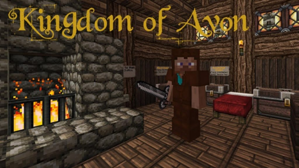 Kingdom of Avon Map