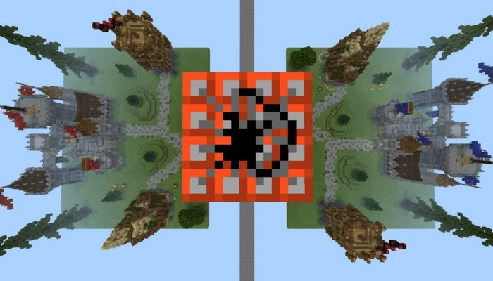 Medieval TNT Wars Map