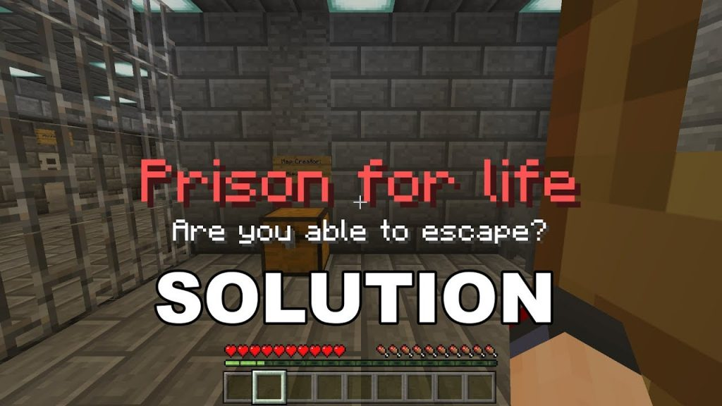 Prison For Life – Are You Able to Escape? Map