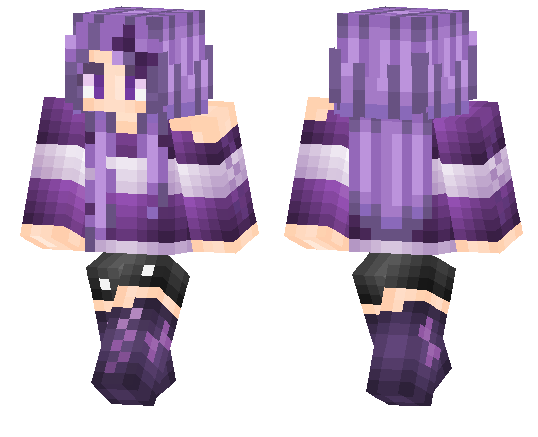 Hooded Wizard Female Skin Minecraft Pe Skins