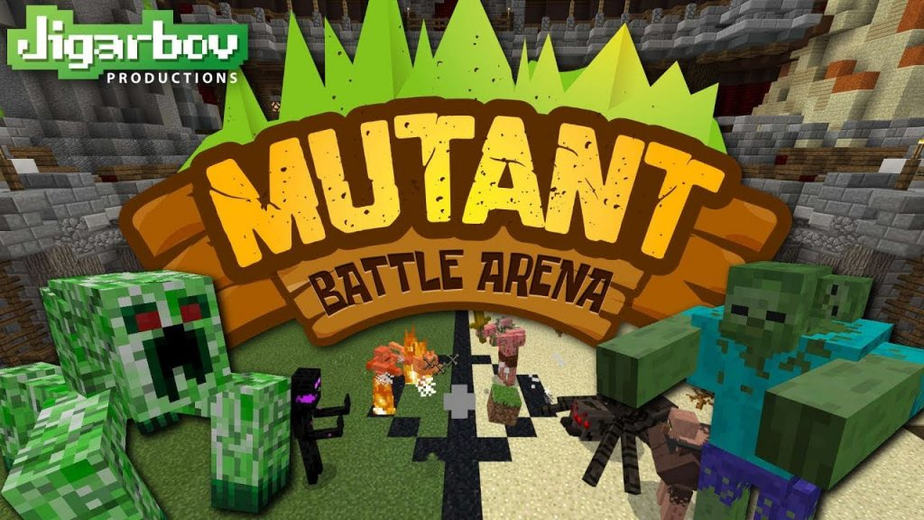 Mob Arena Battles 3 Map for Minecraft PE 1.2 (Beta) [Mini-game]