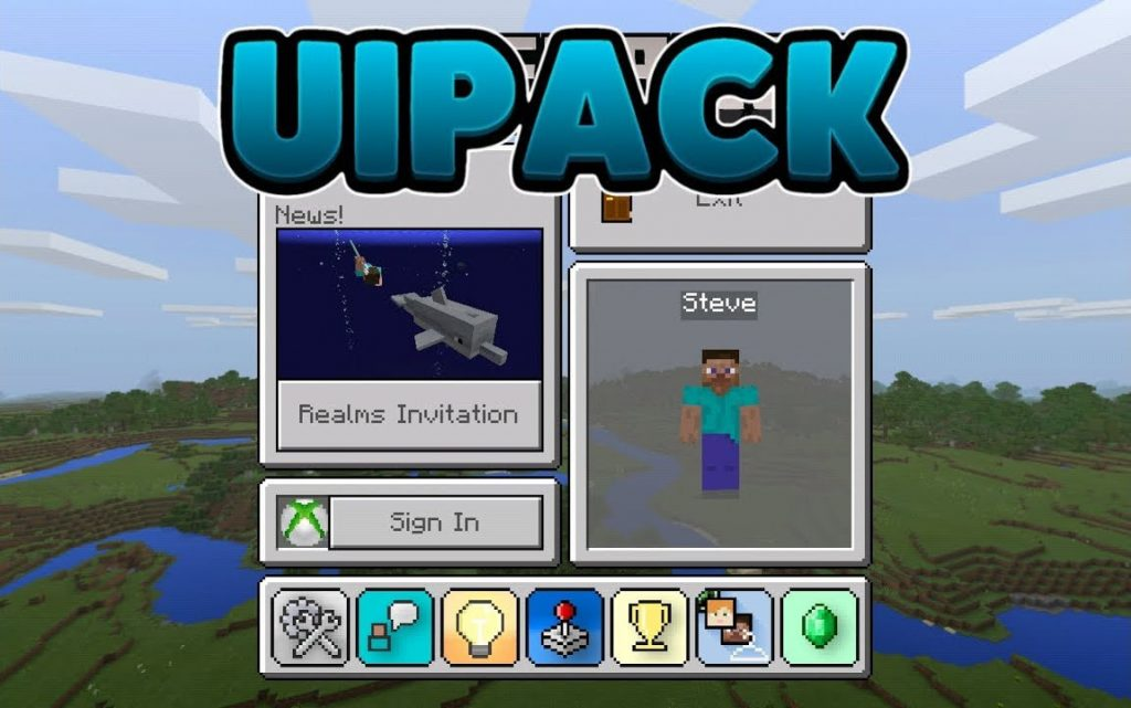 UIPack Texture Pack for Minecraft PE