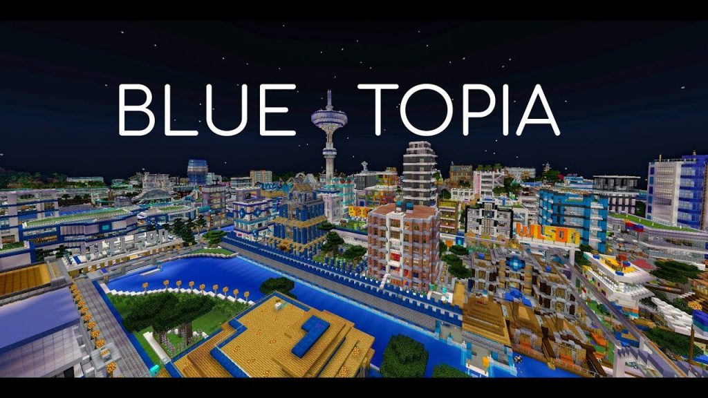 Blue Topia Map