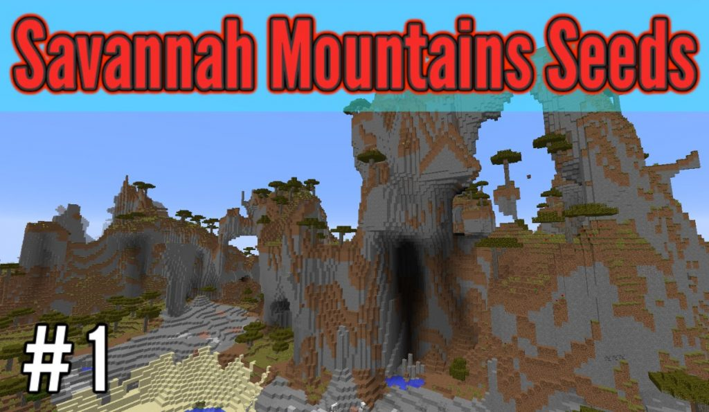 Extreme Mountains in Savannah Seed