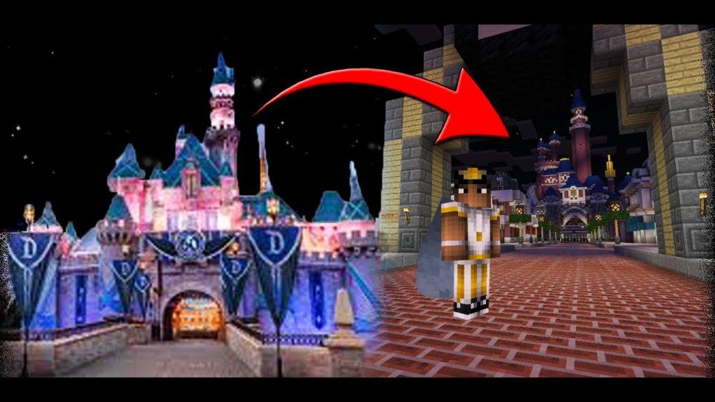 Minecraft Walt Disney World Map