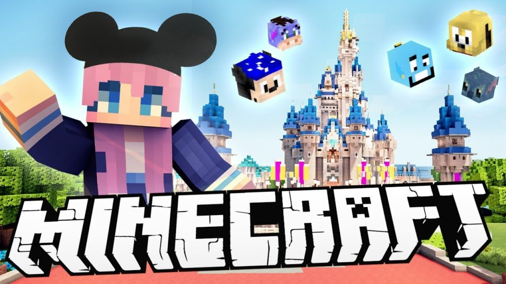 Minecraft Walt Disneyworld Texture Pack