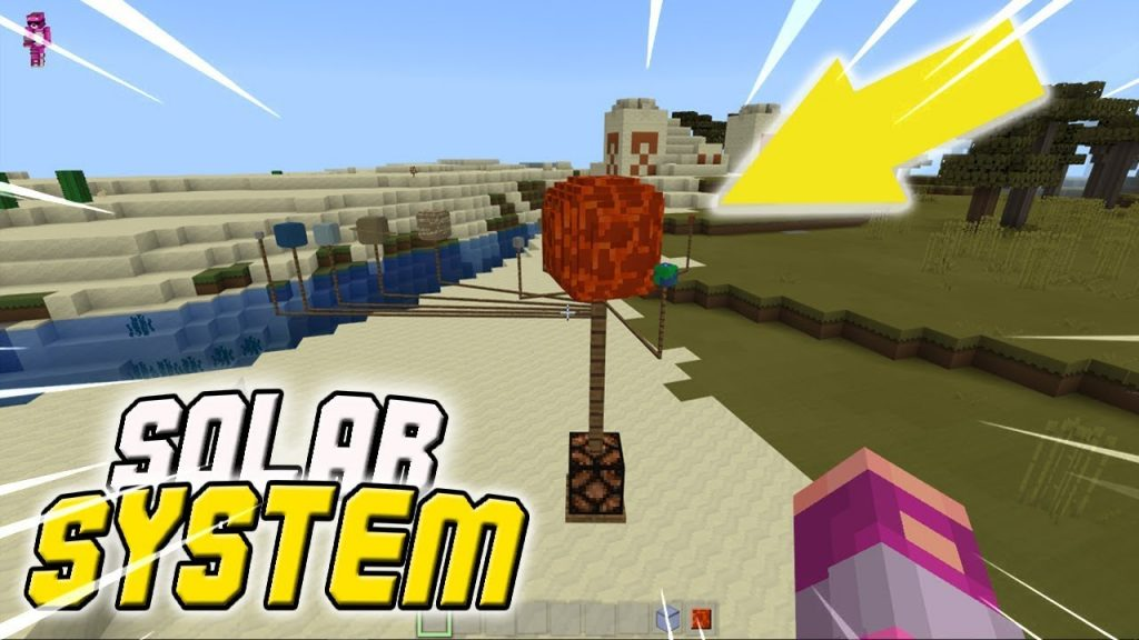 Solar System Model Addon