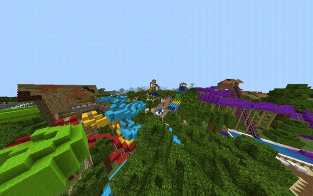 PortAventura World Map | Minecraft PE Maps