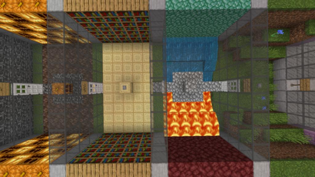 RAGE Parkour Map | Minecraft PE Maps