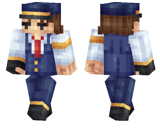 Steampunk Train Conductor Skin