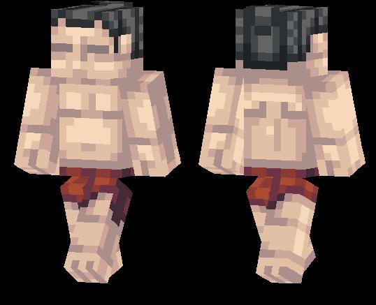 Sumo Wrestler Skin