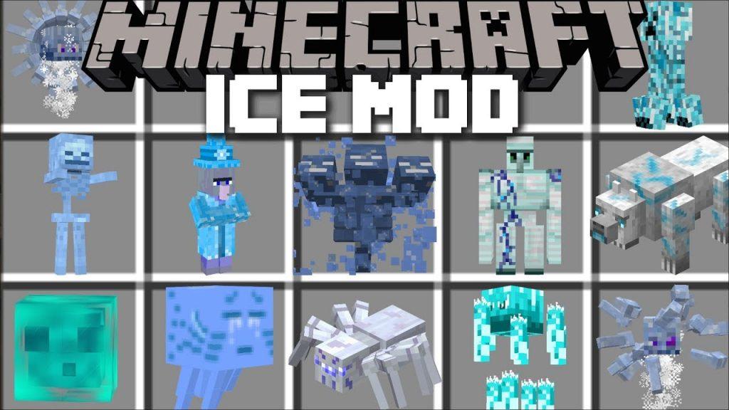 Ice Mobs Mod(Addon)