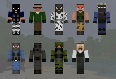 Minecraft PE Skins Minecraft PE Mods, Maps, Seeds, Skins, Texture Packs