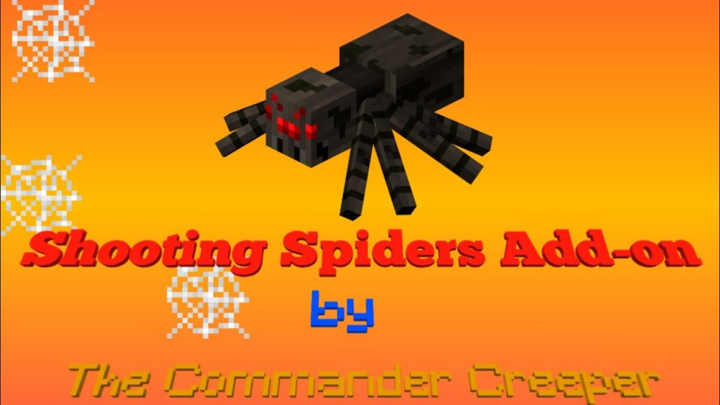 Shooting Spiders Addon