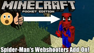Spiderman's Webshooters Addon(Mod)