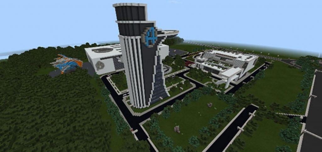 UKS City: Avengers: Endgame Update Map | Minecraft PE Maps