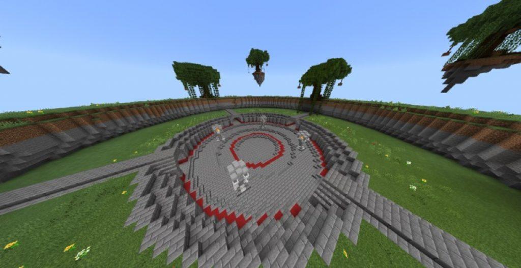 BattleArena PvE Map | Minecraft PE Maps