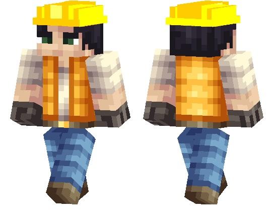 Construction Worker Skin