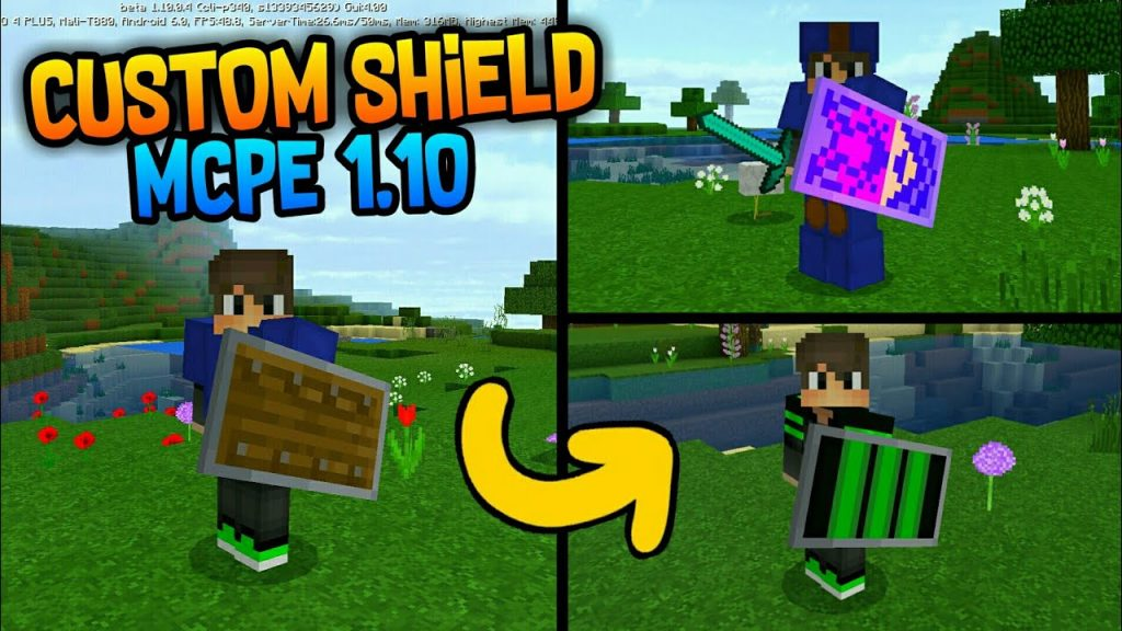Custom Shield Pack 1&2 Mod