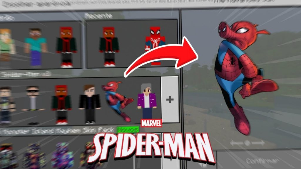 Spiderman Skins Pack