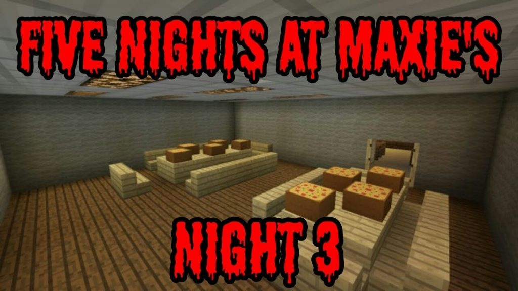 Five Nights At Maxie's 3 Map