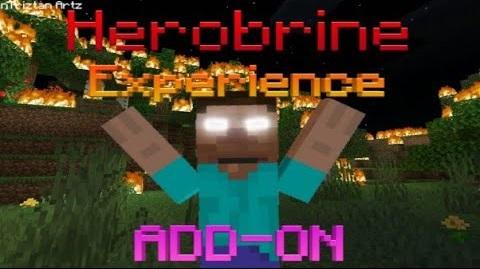 Herobrine Experience Addon