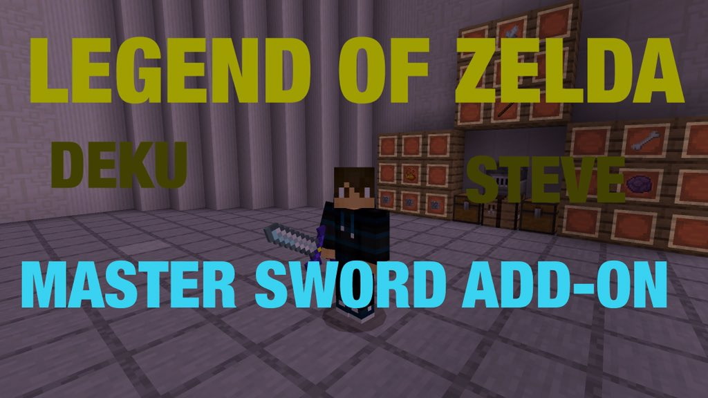 Legend of Zelda Master Sword Addon
