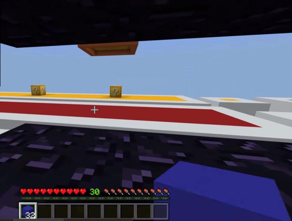 Lucky Blocks Race Map | Minecraft PE Maps