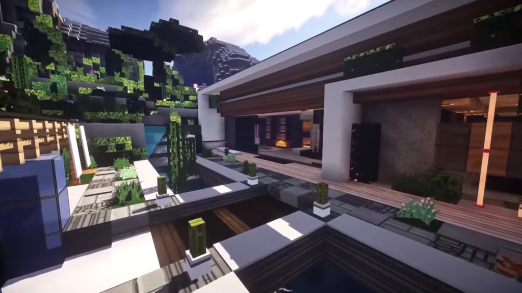 Modern House Map Minecraft Pe Maps