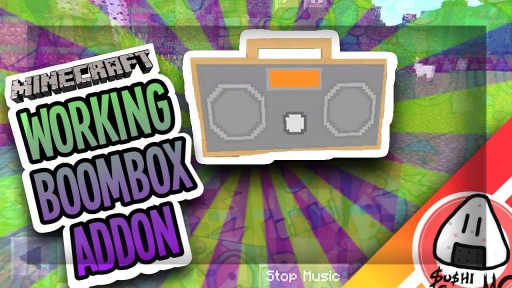 Working Boombox Addon Minecraft Pe Addons